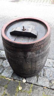 Weinfass Mostfass Dekofass aus Eichenholz
