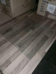 Glasplatte als Regalboden oder Möbel-Auflage