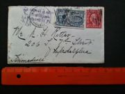 USA Briefmarken Washington Delivery auf