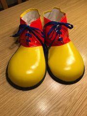 FASCHING Clown Schuhe XL Neu