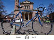 Tolles Peugeot Rennrad in blau