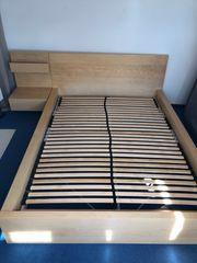 Ikea Bett mit Zubehör zu