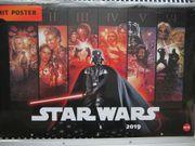 STAR WARS Wand Kalender mit