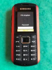SAMSUNG Handy B2100 rot schwarz