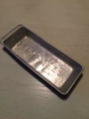 Antike Aluminium Backform sehr alt