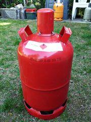 Propangasflasche 11kg Rot Gasflasche leer