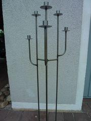 Kerzenhalter 6-Arm aus Metall