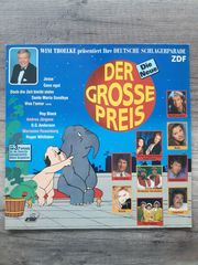 LPs Schallplatten Vinyl Sampler Schlager