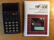 HP-33E PROGRAMMIERBARER TASCHENRECHNER