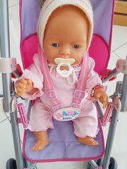 Baby Born mit Zubehör und