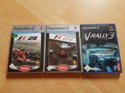 PS2 Spiele 3er Set