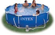 Intex Pool 306x76 cm frei