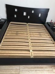 Bett mit Lattenrosten