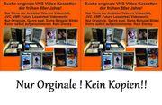 Suche orginale VHS Video Kassetten