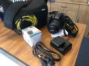 Nikon D7200 Makro-Objektiv Akku-Ladegerät Tasche