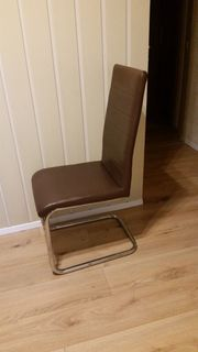 4 Stühle Freischwinger