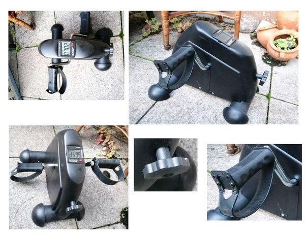 Kompakter Mini-Heimtrainer zur Stärkung der Arm- und Beinmuskulatur