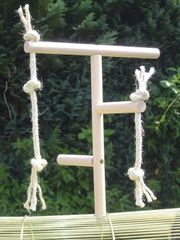 pipano Klettergerüst für Vogelkäfig Sitzstange