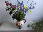Handbemalter Weinkrug Wasserkrug Vase Keramik