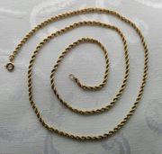 Halskette Goldkette Kordelkette 333er Gold