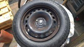 4 Sommerreifen Dunlop auf Stahlfelgen für Scenic 3