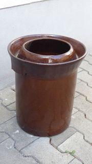 Einmachtopf 20 Liter für Sauerkraut