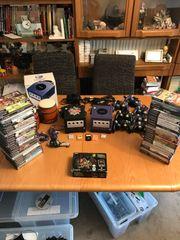 Riesen Gamecube Sammlung Mario Zelda