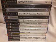 PS 2 - div Spiele