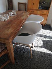 Schalenstühle Skandinawisches Design weiß