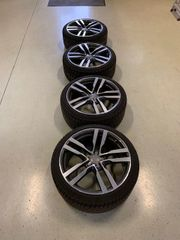 4 Winterreifen auf Original Audi