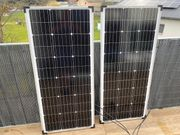Solaranlage 200W Komplett