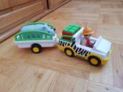 123 Playmobil Safari- Fahrzeug mit