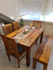 Esstisch mit 4 Stühlen und