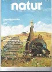 Sammlung Zeitschrift NATUR zu verschenken