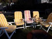 5 Gartenstühle Kettler Capri