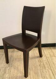 Leder Stühle 4 Stk