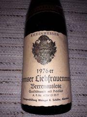 Wein Wormser Liebfrauenmorgen Beerenauslese 1976er