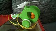 Nachziehspielzeug Helikopter Holzspielzeug