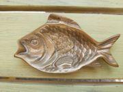 Messing-Schale in Fisch Form
