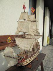 Modellschiff Spanische Galeone um 1700