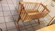 Kinderbett Wiege 40x90 cm zu