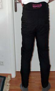 Harro-Motorradhose schwarz aus atmungsaktiven Harro-Thermolite