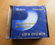 12x CD u DVD Leerboxen