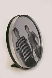 Bilder-Standrahmen Fotoblock Acrylglas Plexiglas dunkelgrün