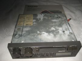 Oldtimer, Youngtimer - Oldtimer Autoradio Radio Sanyo FT2250MV