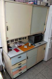 Küchenschrank 50er Jahre mit Sideboard