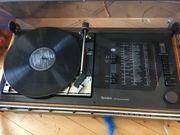 Schallplattenspieler mit Lautsprecher