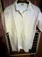 Shirt - Damen - neuwertig - Polo - Shirt - weiß -