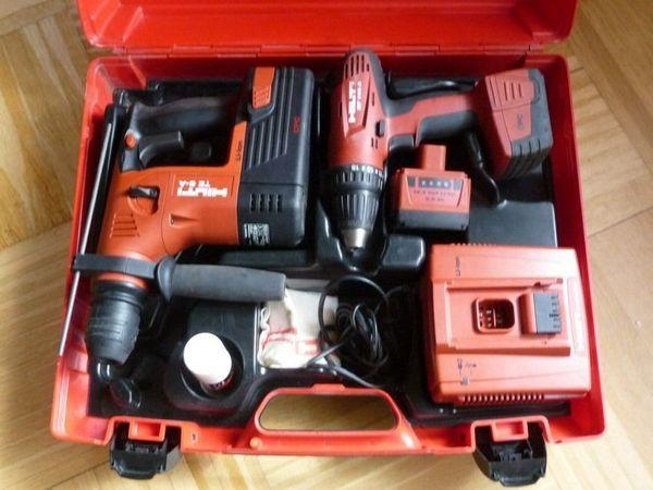 Hilti tool Kit Schlagbohrmaschine TE