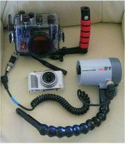 Ikelite Unterwassergeh Blitz Panasonic Unterwasserkamera
